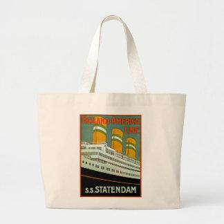 s.s. Statendam Jumbo Tote Bag