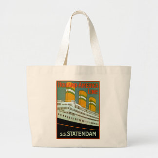 s.s. Statendam Large Tote Bag