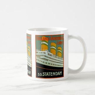 s.s. Statendam Coffee Mugs