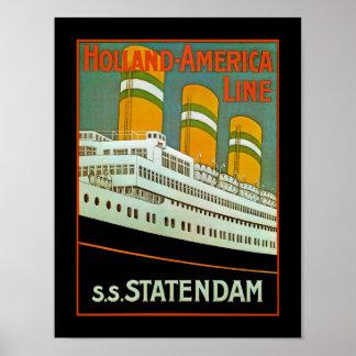 s.s. Statendam Impresiones