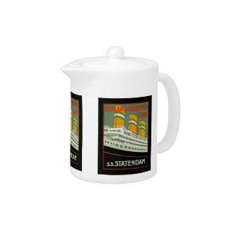 s.s. Statendam Teapot