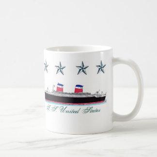 S. S. United States - Mug