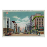 S Salina Street from Fayette Street Poster