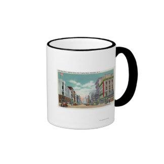 S Salina Street from Fayette Street Ringer Mug