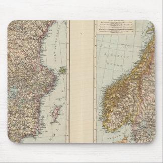 S Scandinavia, Norway, Sweden Mousepads