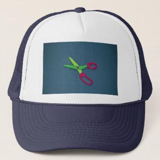 s scissors trucker hat