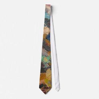 S Shano Color Mountain Slice 11 Neck Tie