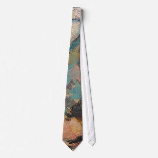 S Shano Color Mountain Slice 9 Neck Tie