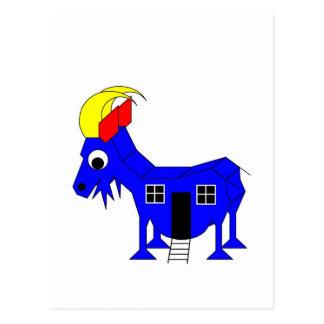 s She Goat - Playhose Draft Postcard