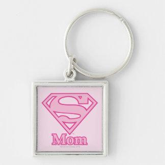 S-Shield Mom Keychain