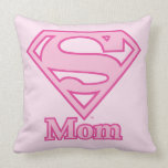 S-Shield Mom Throw Pillows
