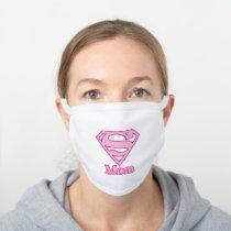 S-Shield Mom White Cotton Face Mask