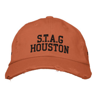 S.T.A.GHouston Embroidered Baseball Hat