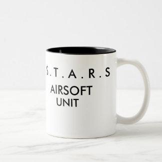 S . T . A . R . S , AIRSOFT, UNIT Two-Tone COFFEE MUG