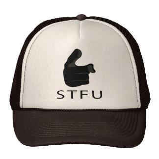 S T F U TRUCKER HAT