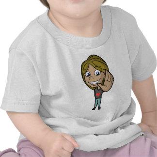S.T.O.P. I.T. Camisa de la campaña - chica