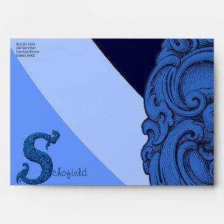 S - The Falck Alphabet (Blue) Envelope