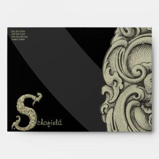 S - The Falck Alphabet (Golden) Envelope