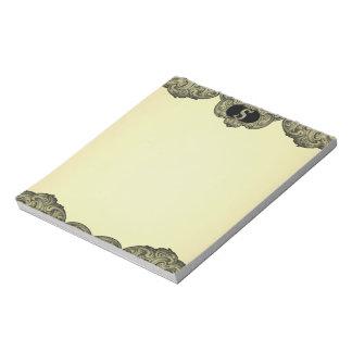 S - The Falck Alphabet (Golden) Notepad