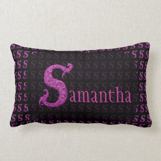 S - The Falck Alphabet (Pink) Pillows