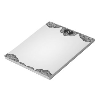 S - The Falck Alphabet (Silvery) Note Pad
