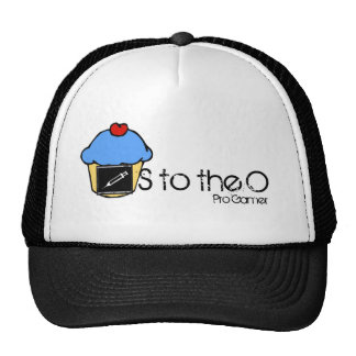 S to the O Cupcake Hat