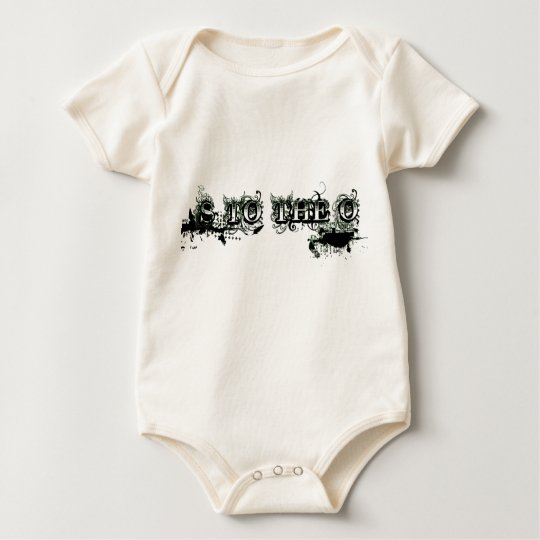 S to the O: Not Just a Name Baby Bodysuit