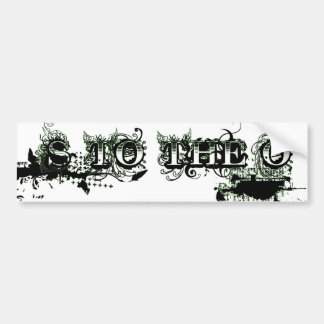 S to the O: Not Just a Name Car Bumper Sticker