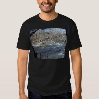 S-turn in the snow t shirt
