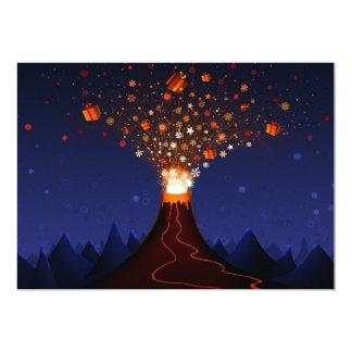 s_volcano-2560x1600 5x7 paper invitation card