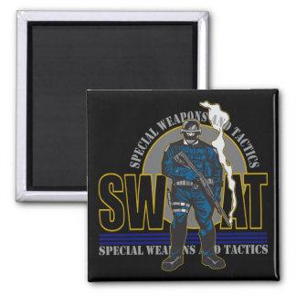 S.W.A.T. Attitude 2 Inch Square Magnet