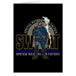 S.W.A.T. Attitude Greeting Card