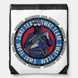 S.W.A.T. Team Drawstring Backpack