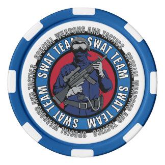 Police poker chips