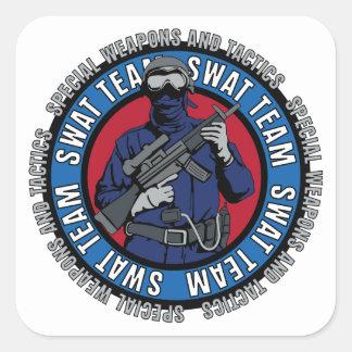 S.W.A.T. Team Square Sticker