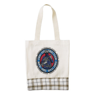 S.W.A.T. Team Zazzle HEART Tote Bag