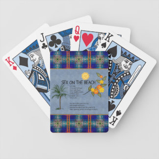 S*x On The Beach Bicycle Playing Cards