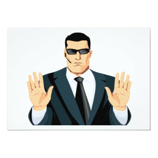 SA7 SECRET AGENT BODYGUARD COMICS CARTOON DARK MOB CARDS