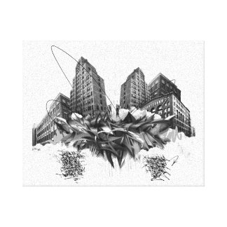 SA.0294 - Climax angry Canvas Print