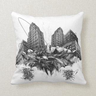 SA.0294 - Climax angry Throw Pillow