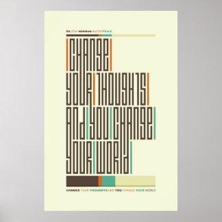 SA.0294 - Poster normando de la tipografía de la c Póster