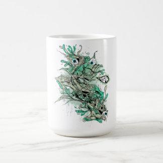 SA.0294 - The Monsta Classic White Coffee Mug