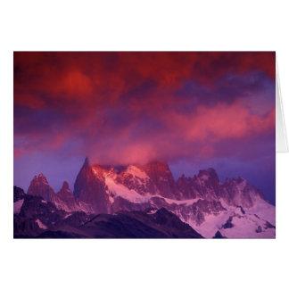 SA, Argentina, Los Glaciares National Park, Card