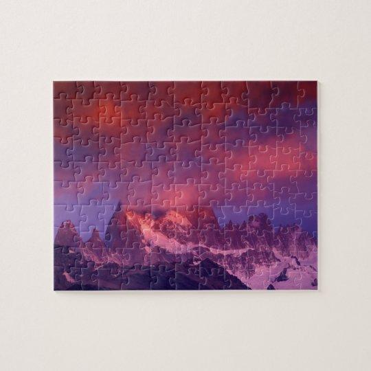 SA, Argentina, Los Glaciares National Park, Jigsaw Puzzle