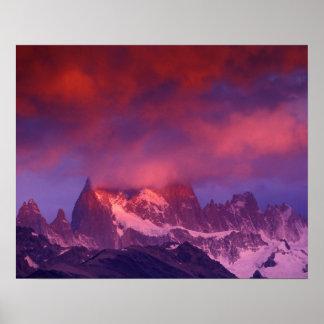 SA, Argentina, Los Glaciares National Park, Poster