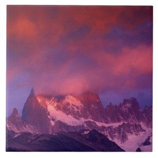 SA, Argentina, Los Glaciares National Park, Tile