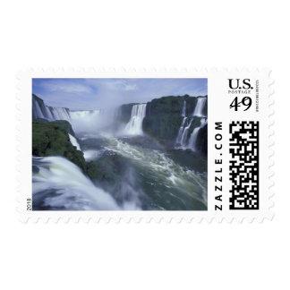 SA, Brazil, Iguassu Falls Postage