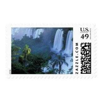 SA, Brazil, Parana State; Iguacu NP, Iguacu Postage Stamp