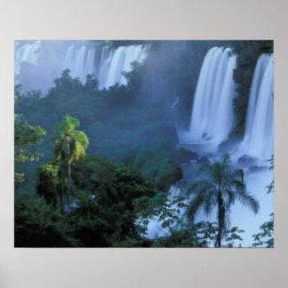 SA, Brazil, Parana State; Iguacu NP, Iguacu Poster