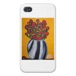 SA-Flores iPhone 4 Funda